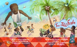 Adonal Foyle Children's book Illustration