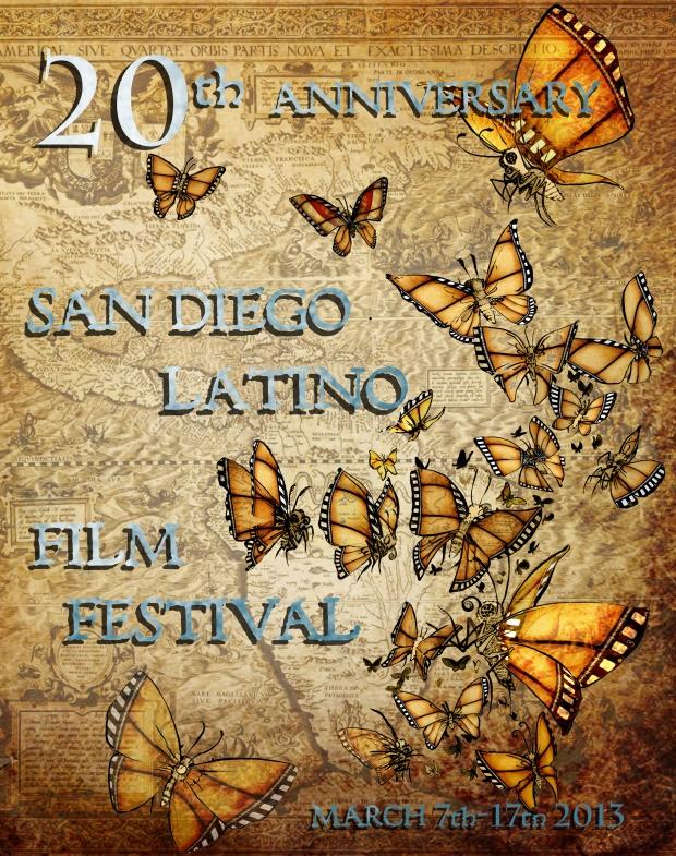 Latino Film Festival San Diego Poster 2012 San Diego Latino Film